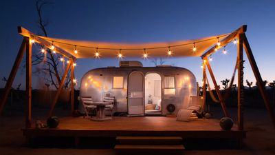 These vintage Joshua Tree airstream trailers are every Instagrammer's dream