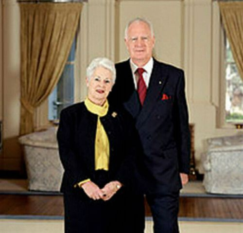 Ann Hollingworth, the wife of former Governor-General Peter Hollingworth, has been found after being reported missing last night. (Supplied)