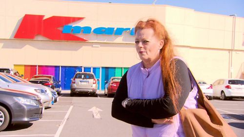 A loyal Kmart customer claims she was made to feel like a shoplifter when trying to make a return.