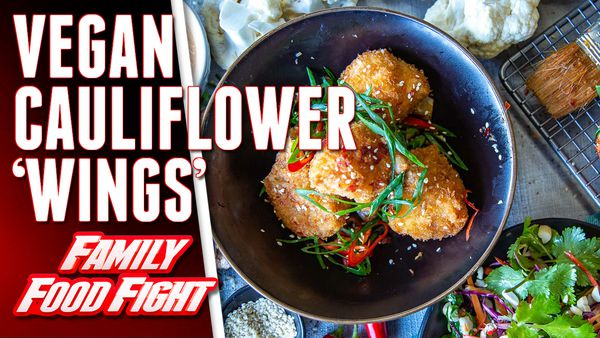 The Cameron-Bradley's Vegan Cauliflower 'Wings' with Sriracha Aioli and Slaw