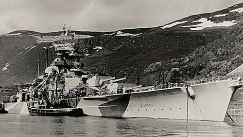 Nazi battleship's legacy stunts Norwegian trees