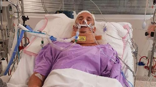 Brock Prime has been at Gold Coast University Hospital since the incident on the M1 at Yatala on February 24.