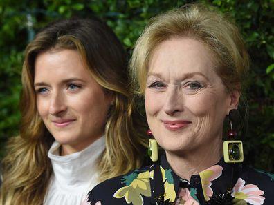 Grace Gummer and Meryl Streep.