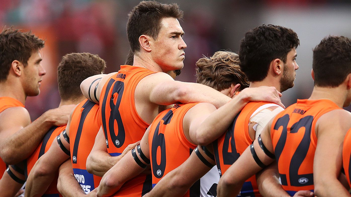 Jeremy Cameron is rumoured to be eyeing an exit from GWS