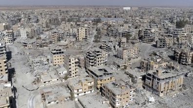 The city of Raqqa  in Syria, where Samantha Sally Elhassani ended up.