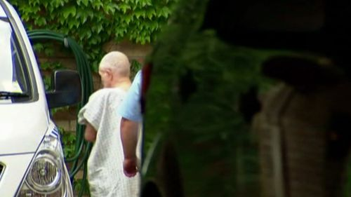 Walsh leaving Long Bay Prison to face questioning over his cellmate's death last year. Picture: 9NEWS