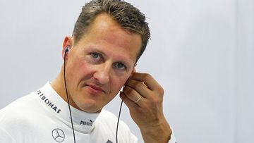 Former F1 champion Michael Schumacher.