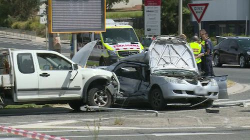 The crash occurred in Rowville in February this year.