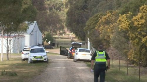The accident occurred at a rural property near Bairnsdale.