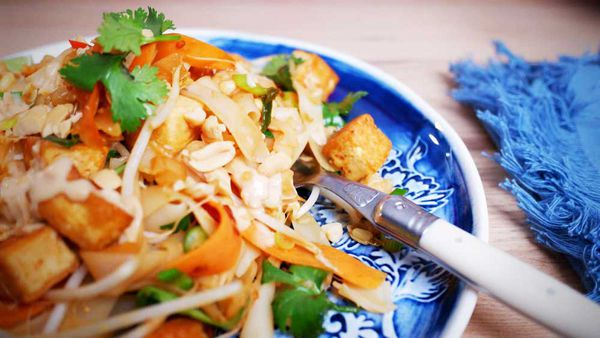 The perfect vegetarian Pad Thai recipe is right here