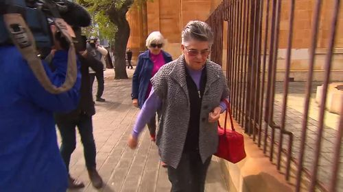 Sister Theresa Swiggs gave thousands to Walsh. (9NEWS)