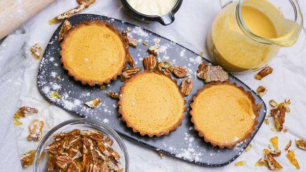 The Tartaglia and Giles' Pumpkin Pie