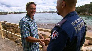Heart attack survivor thanks paramedics who saved his life