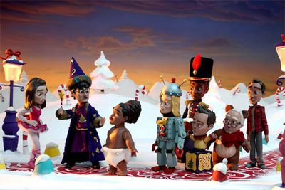 In 2010 this geeky, pop-culture-obsessed sitcom paid homage to stop-motion animation Christmas classics by transforming its characters into stop-motion animation. The cute puppets had a sinister cause: they were a delusion of Abed's (Danny Pudi), brought on by his inability to deal with the fact that his mum no longer wanted to spend Christmas with him.