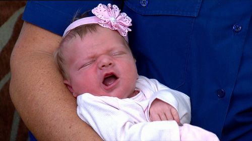 Ivy Earl is home from hospital, and doing well (9NEWS)
