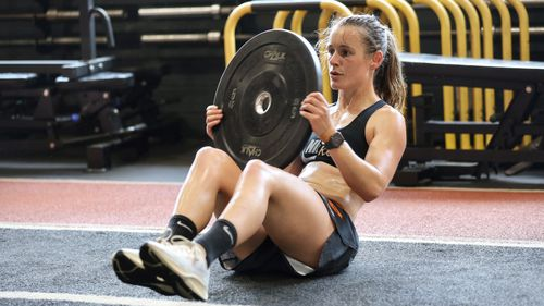 As an athlete, Alicia Eva said physical activity plays a large role in maintaining a positive mindset.
