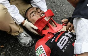 Australian Richie Porte's sickening crash one of the worst in Tour de France history