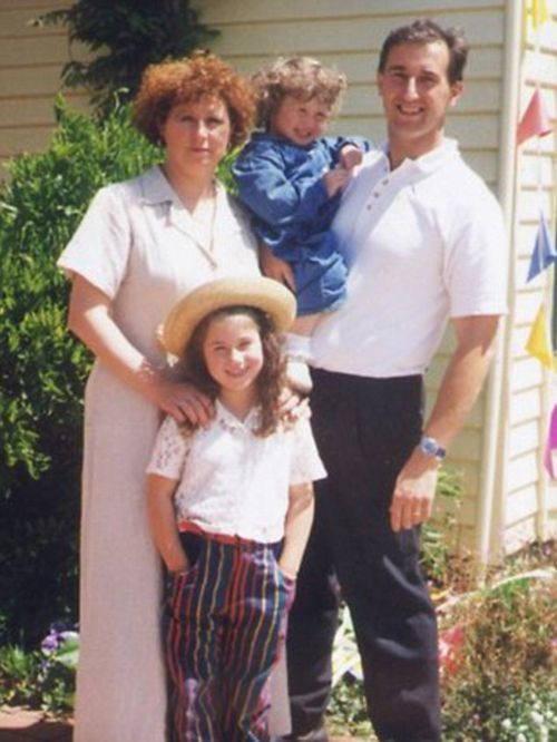 Walter and Nanette Mikac with their daughters Alannah and Madeline. (Supplied)