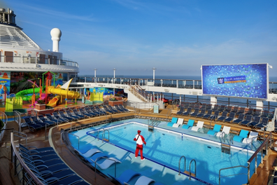 Royal Caribbean Spectrum of the Seas pools