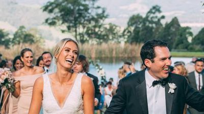 Sylvia Jeffreys and Peter Stefanovic's love story in photos