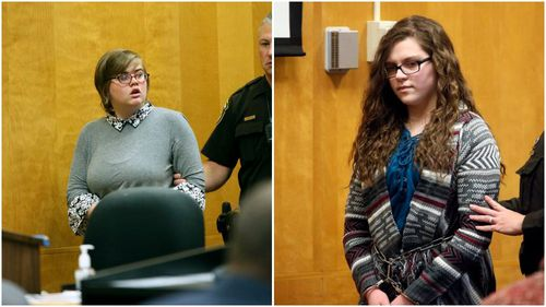 Morgan Geyser was sentenced to 40 years in a mental institution, while Anissa Weier faces 25 years. (AAP)