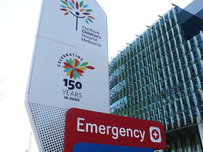 The Royal Children's Hospital in Melbourne, Australia.