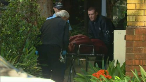 Ms Abek was stabbed to death in the couple's Potts Point home.
