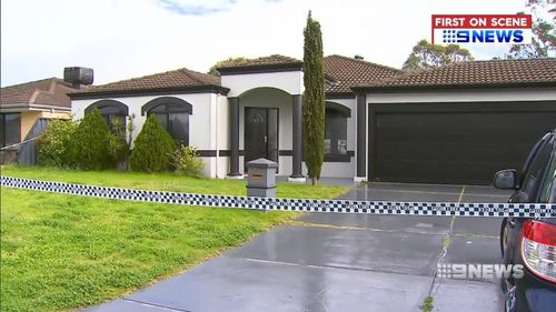 A 36-year-old man was found brutally bashing in his South Guildford home. Picture: 9NEWS