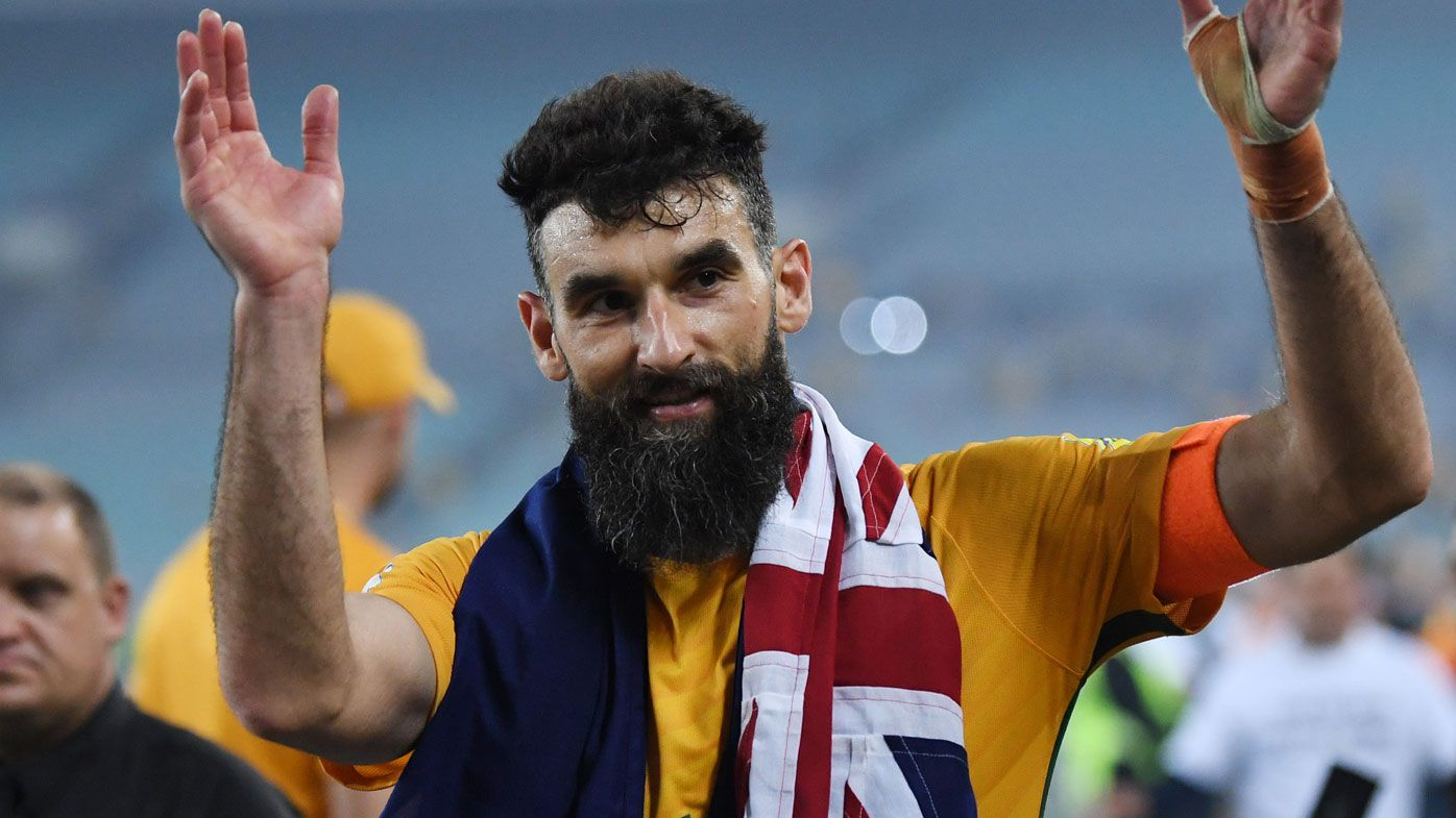 Socceroos skipper Mile Jedinak goes in to bat for banned Peru captain Paulo Guerrero