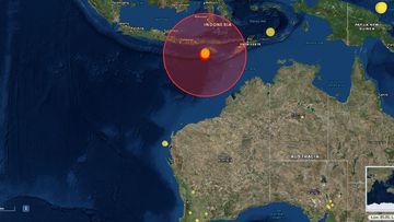 Indonesia earthquakes Indian Ocean
