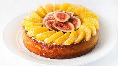 "Recipe:<a href=""3 oranges 375g sugar 375g almond meal 9g baking powder"" target=""_top"">Orange and almond celebration cake</a>"