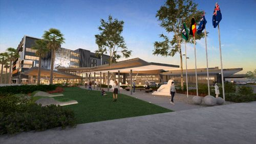 The NSW government has committed more than $300 million for two stages of the redevelopment. Picture: 9NEWS