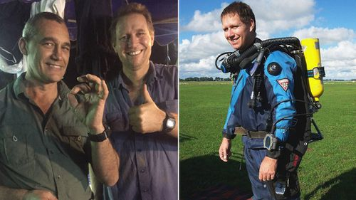 Australian anaesthetist Dr Richard Harris, who was part of the international diving rescue team who were under immense pressure in the operation, is now also facing the address stress of the loss of his father. Picture: Supplied.