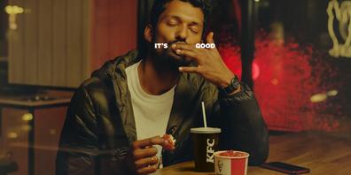 KFC Finger Licking good ad campaign