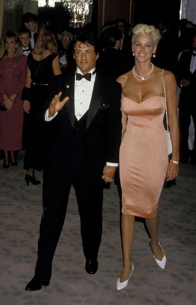 Sylvester Stallone, Brigitte Nielsen