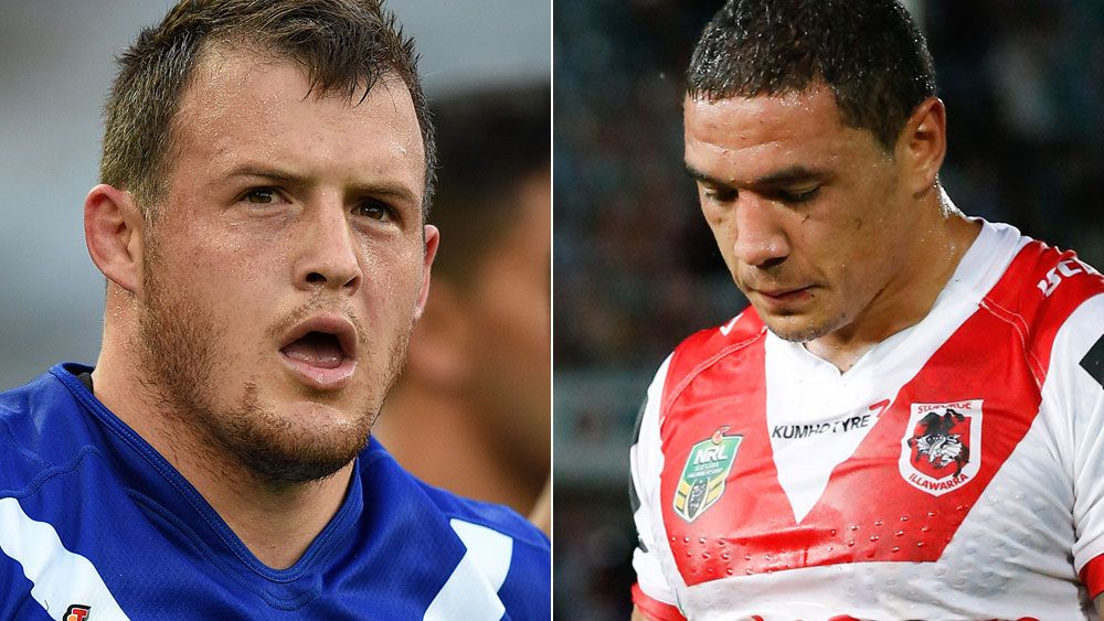 Morris, Frizell released from Blues' squad