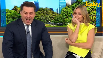 There were two reactions from our hosts this morning.