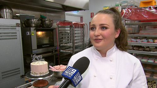 Kate Matheson, 20, spoke to 9NEWS about her sweet success.