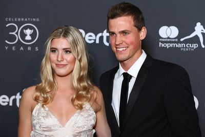 <strong>CANADA: Eugenie Bouchard and Vasek Pospisil. (Getty)</strong>
