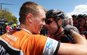 Rohan Dennis wins maiden Tour Down Under amid crash carnage