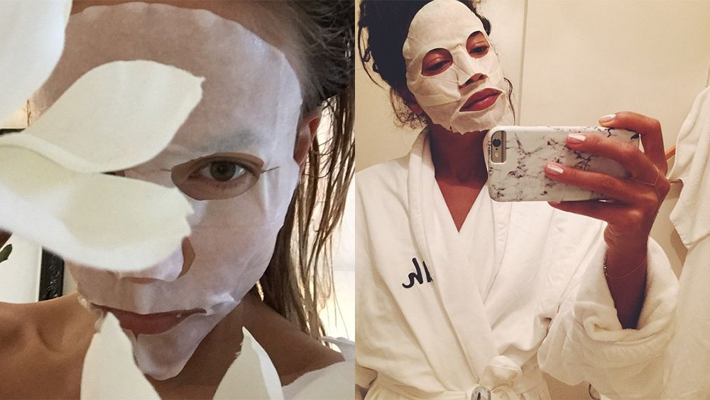 Sheet face masks for ultimate skin perfection