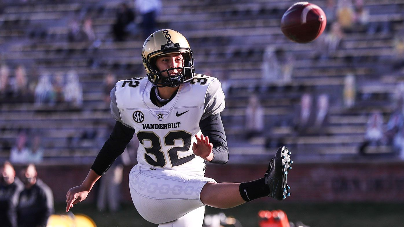 Vanderbilt's Sarah Fuller becomes first woman to play top-tier US college football