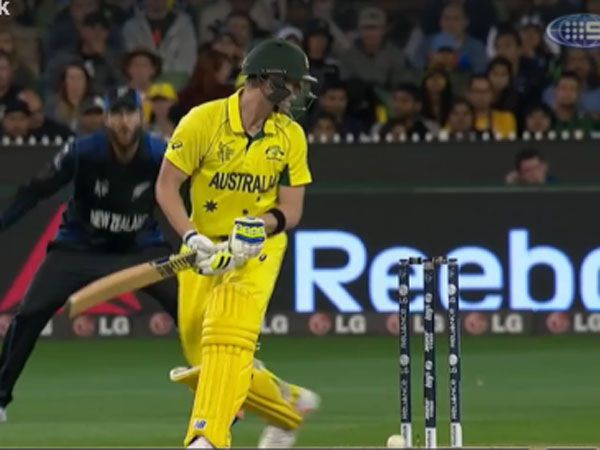 Smith gets a lucky break