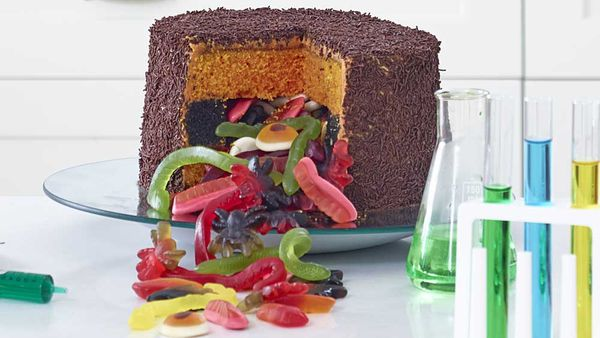 Anna Polyviou's trickle treat cake