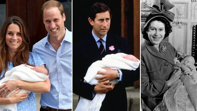 The first photos of royal babies through the years