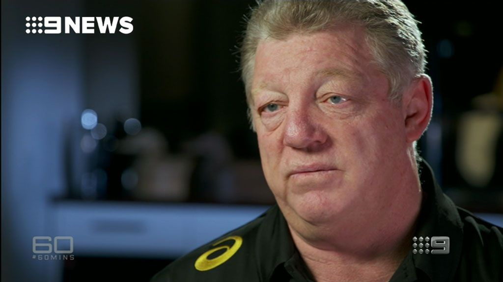 Phil Gould talks about tackling mental health issues in the NRL