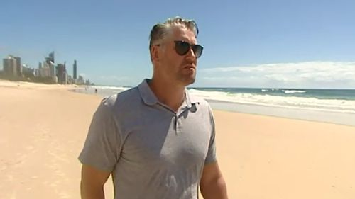Jeff White suffered a stroke at just 40 years old. (9NEWS)