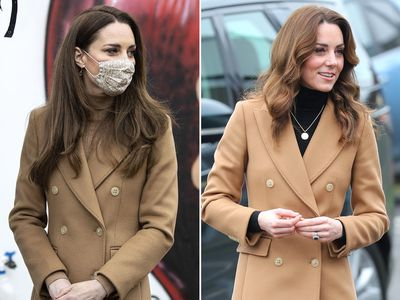Kate dusts off a wardrobe staple, March 2021