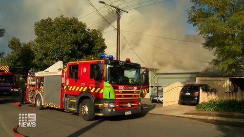 Trinity Gardens house fire