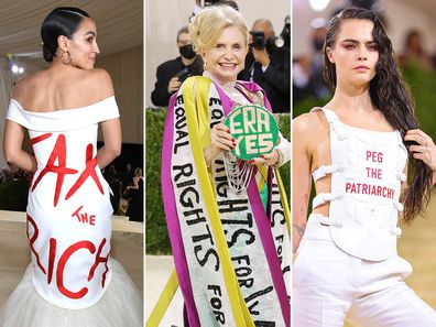 Political statements on the Met Gala red carpet